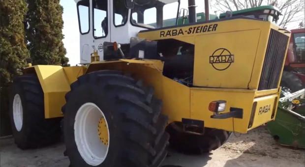 Ciągnik Raba-Steiger - 250 KM dzikiej mocy