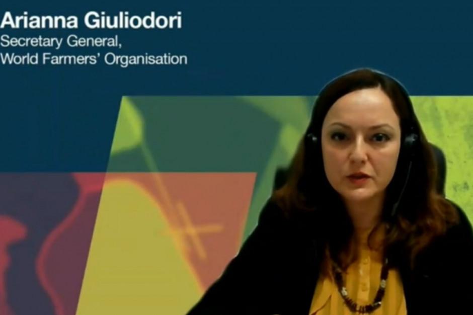 Arianna Giuliodori - sekretarz generalny Światowej Organizacji Rolników WFO Fot. A. Kobus