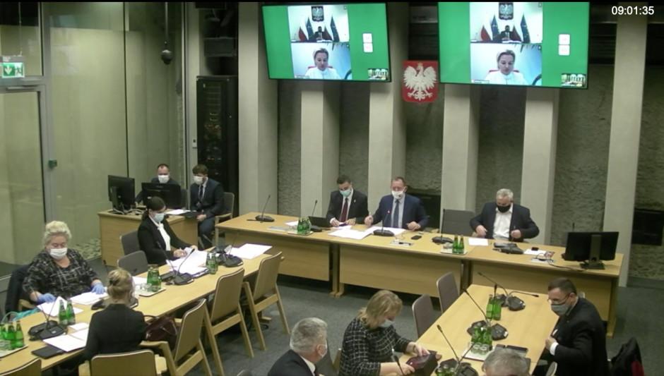 Posiedzenie z Komisji, fot. IZP