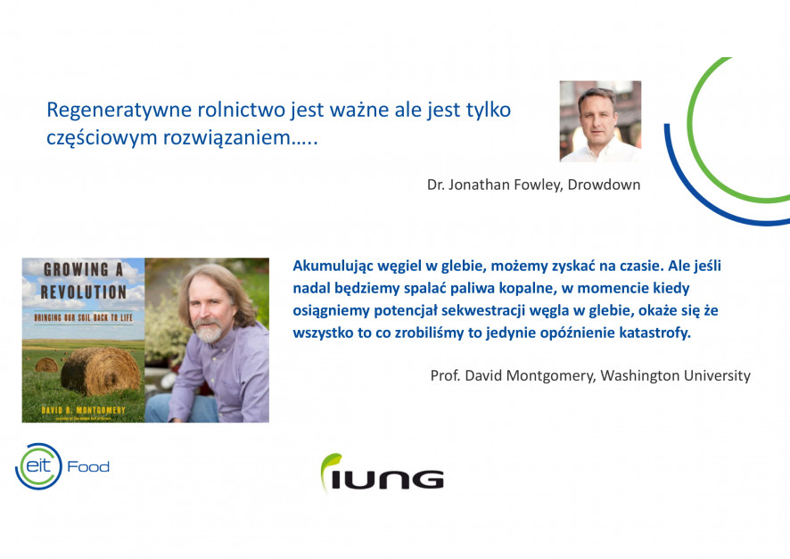 Fragment prezentacji Dr Robera Borka z IUNG Puławy