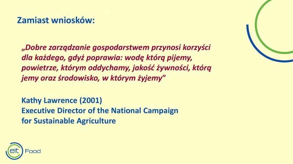 Fragment prezentacji prof. Marka Marksa z Uniwersytetu Warmińsko Mazurskiego w Olsztynie