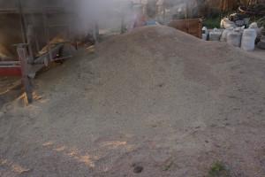 W procesie suszenia kukurydzy zostają też odseparowane zanieczyszczenia