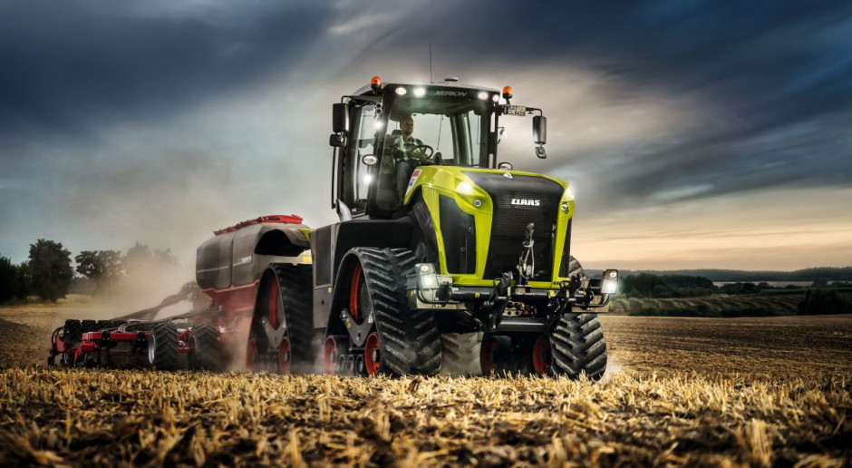 Claas Xerion TS 5000 – gigant na gąsienicach