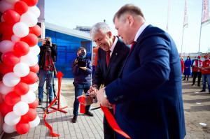 Otwarcie pierwszego marketu w Rosji poświęconego głównie produktom MTZ Belarus, fot. mat. prasowe