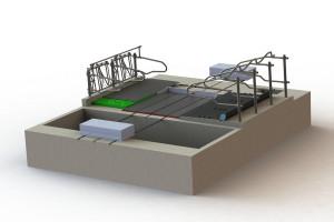 System separowania odchodów stałych i płynnych poprawia higienę posadzek i jakość powietrza w oborze, fot. DLG