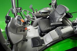 Na pokładzie Deutz-Fahra 5D TTV znajdzie liczne rozwiązania stosowane do tej pory w ciągnikach o dużo wyższych mocach fot. mat. prasowe