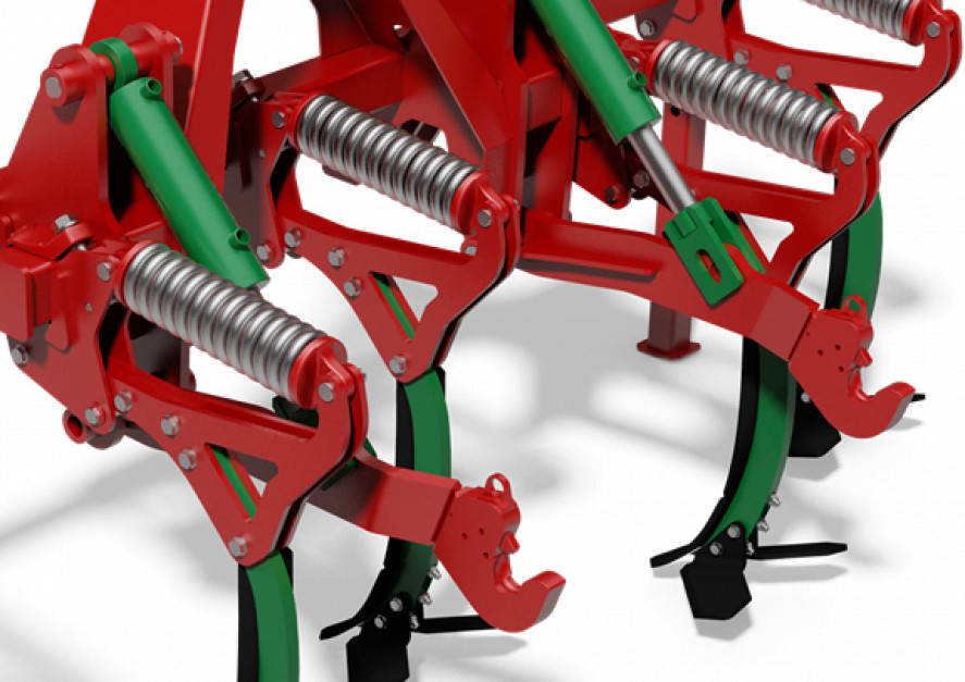 Spulchniacz Duro-Light można wyposażyć w tylni TUZ 2 lub 3 kategorii. Zdjęcie: Agro-Masz