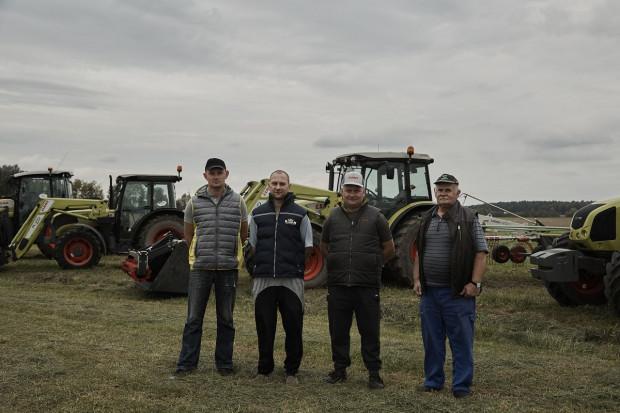 Jarosław Gajewski ze Zgagowo Wieś ceni szczególnie wysoką ergonomię pracy maszyn Claas, fot.Claas