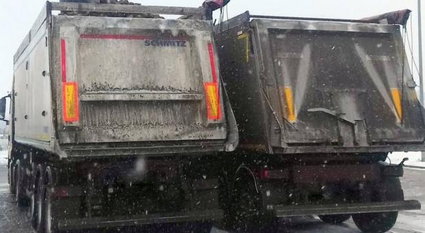 Zbyt dużo buraków - transport zatrzymany