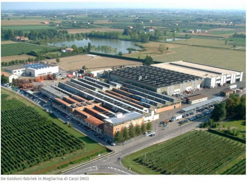 Fabryka Goldoni w Migliarina di Carpi, fot. Facebook/Keestrack