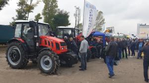 Ciągniki Farmer na wystawie AgroExpo-2020 w ukraińskim mieście Kropywnycki, fot. mat. prasowe