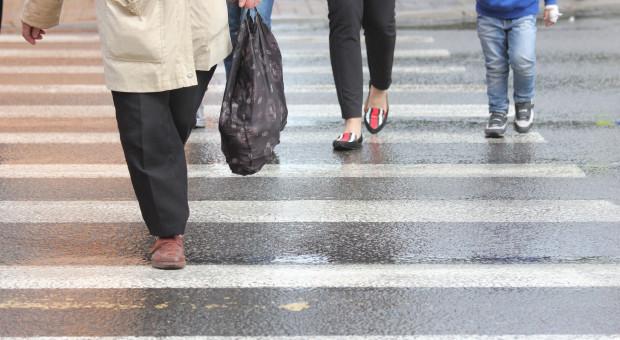 Sejm uchwalił nowelę wprowadzającą m.in. zasadę pierwszeństwa pieszych przy wchodzeniu na pasy