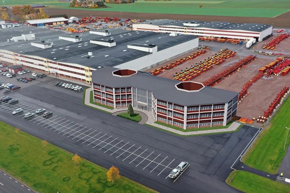 Väderstad rozbudowuje fabrykę