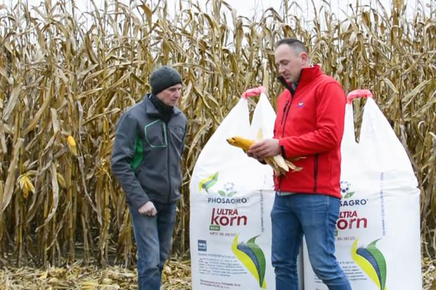Nawóz rekomendowany do siewu startowego kukurydzy