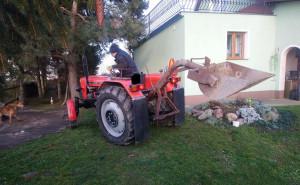 Właściciel ursusa bez zwłoki ruszył na ratunek ratownikom pogotowia, fot. SPZOZ Świdnica
