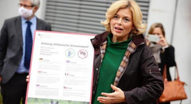 Niemcy: Minister rolnictwa odpowiada na żądania protestujących