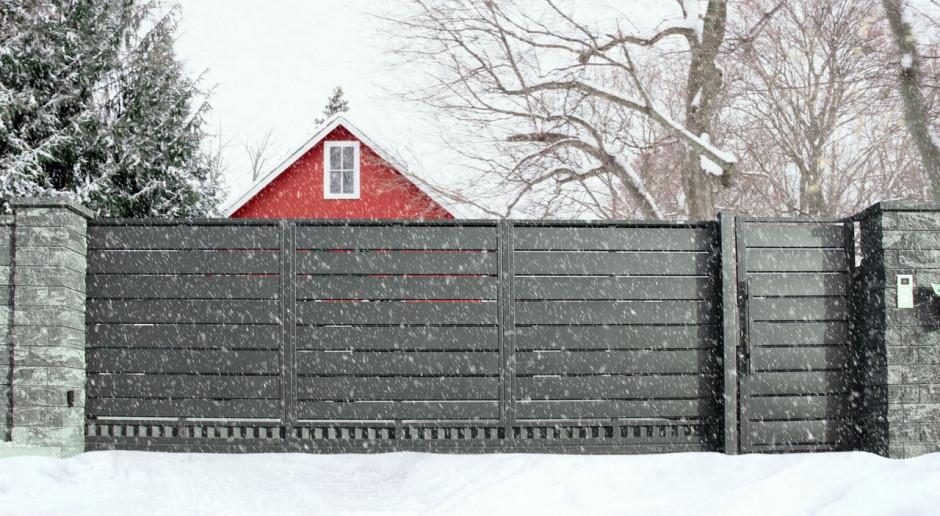 Co zrobić, aby brama wjazdowa działała bezawaryjnie w zimie?