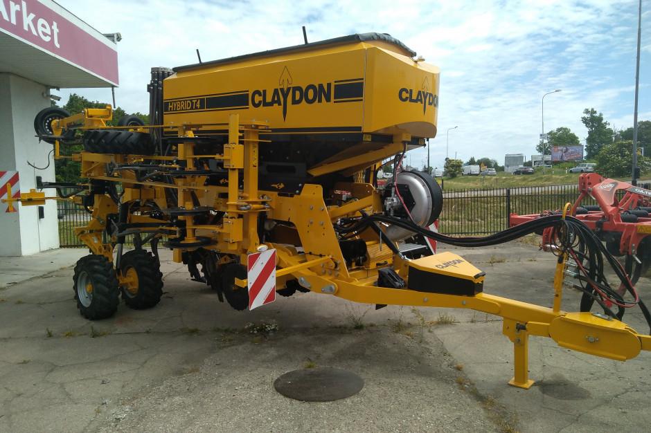 Claydon Hybrid drill T4 szerokość pracy 4 m
