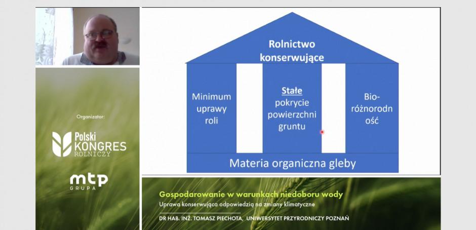 Uprawa konserwująca pozwala na zwiększenie ilości próchnicy w glebie. Zdjęcie: mat. prasowe