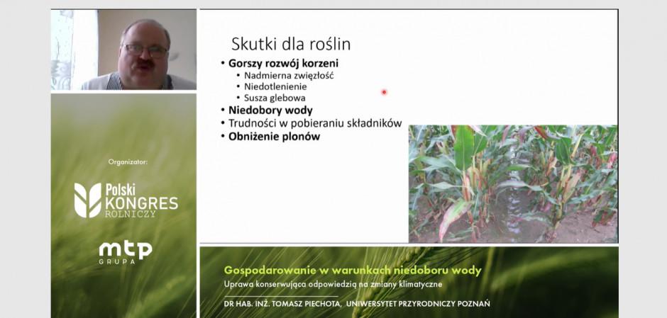 Skutki niskiego poziomu próchnicy mają negatywny wpływ na rośliny. Zdjęcie: mat.prasowe
