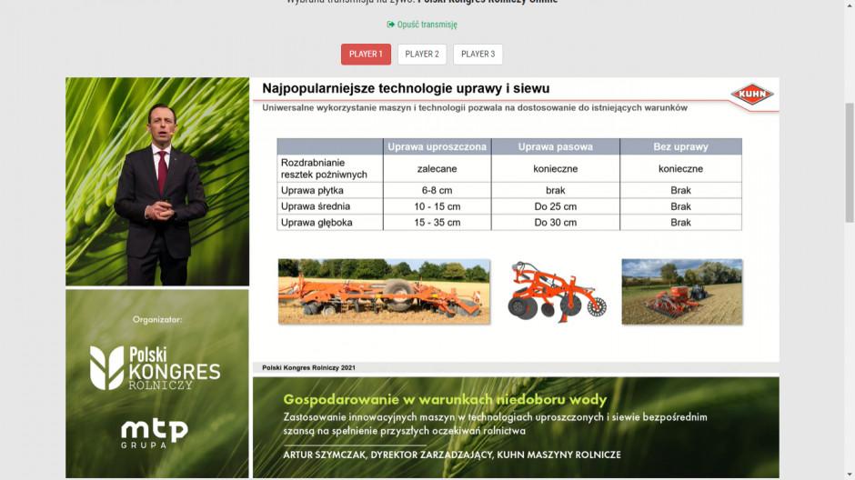 Na slajdzie przedstawione są technologie uprawy zyskujące coraz większą popularność wśród rolników. Zdjęcie: mat. prasowe