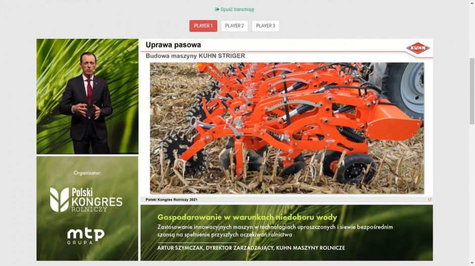 Striger to flagowy agregat do uprawy pasowej firmy Kuhn. Zdjęcie: mat. prasowe