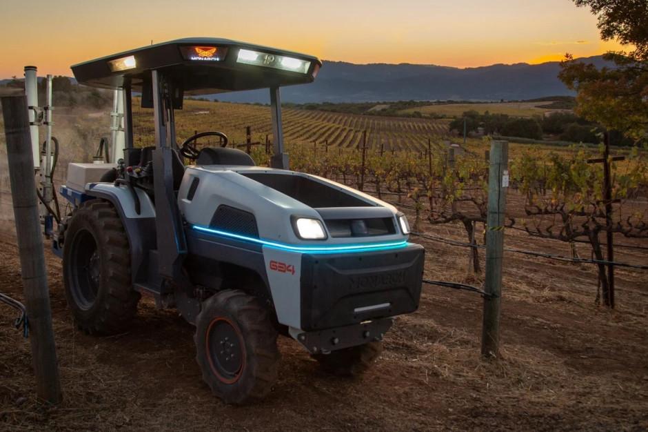 W pełni elektryczny traktor Monarch 634, fot. mat. prasowe