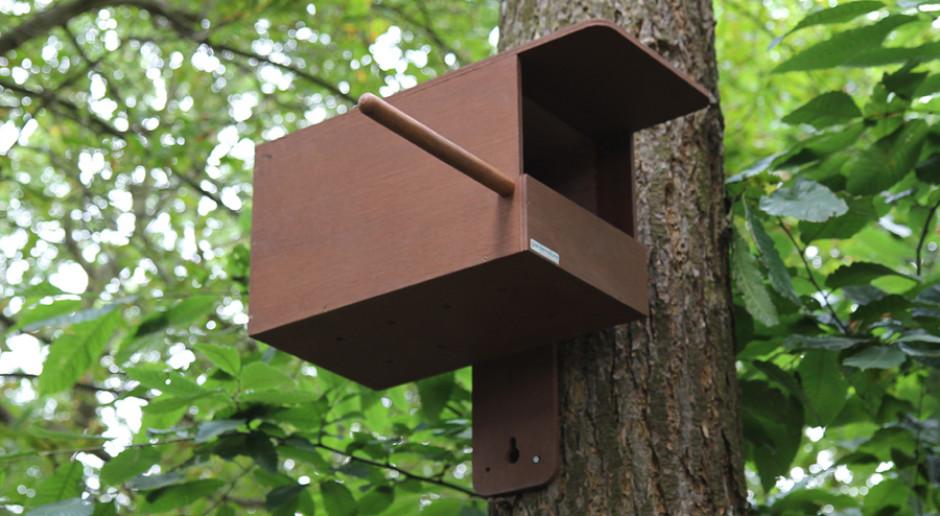 Budka lęgowa dla pustułki. Źródło: garnenature.co.uk