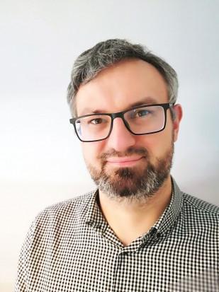 Łukasz Giziewicz, specjalista ds. planowania sprzedaży, marketingu iobsługi klienta zfirmy Pomelac