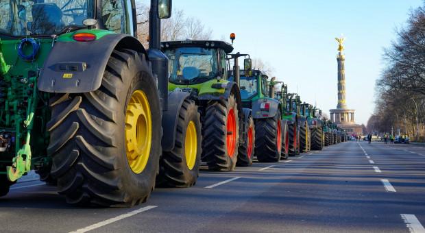 Niepoprawne protesty niemieckich rolników