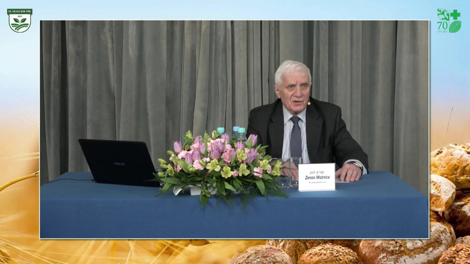 prof. Zenon Woźnica z Uniwersytetu Przyrodniczego w Poznaniu Fot. A. Kobus