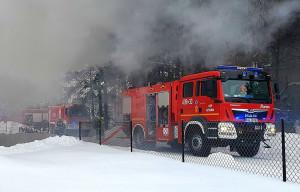 Na ratunek rolnikom przybyło 8 zastępów strażaków, Foto: OSP Sztabin