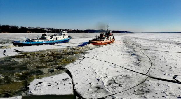Zachodniopomorskie: Rozpoczęła się akcja lodołamania na Odrze