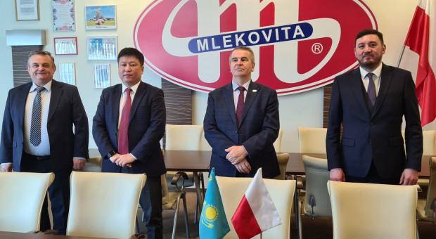 Mlekovita umacnia stosunki gospodarcze z Kazachstanem