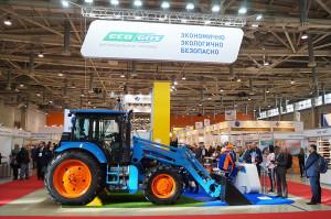 Rosyjski ciągnik Agromash 85TK zasilany metanem
