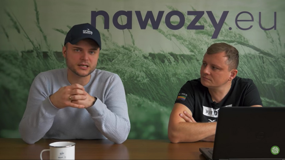 Kamil Struk i Paweł Kiełpsz, eksperci Grupy Azoty, fot. YT
