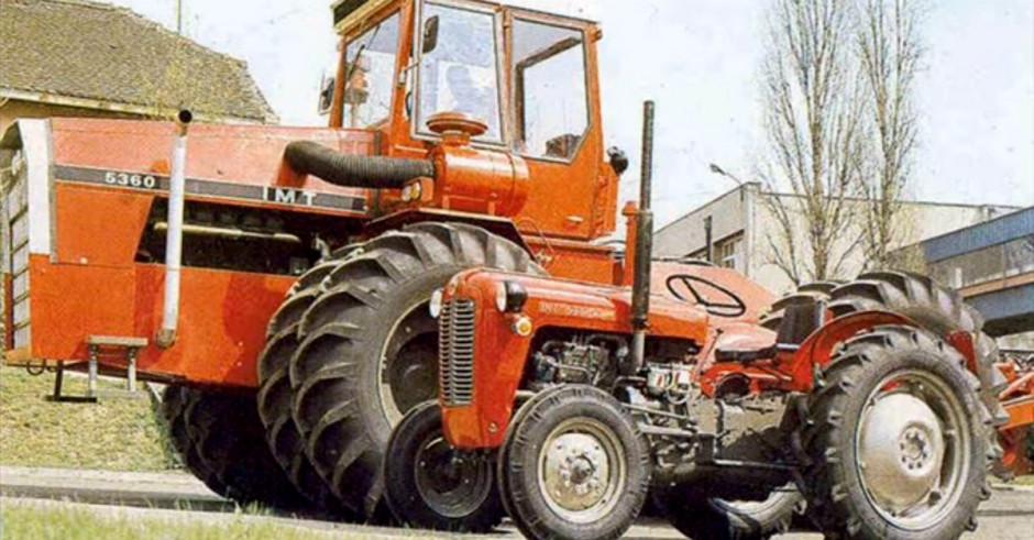 IMT 5360 (360 KM) był w serii bezpośrednio przed wspomnianym modelem 5500 o mocy 571 KM, fot. index.hr