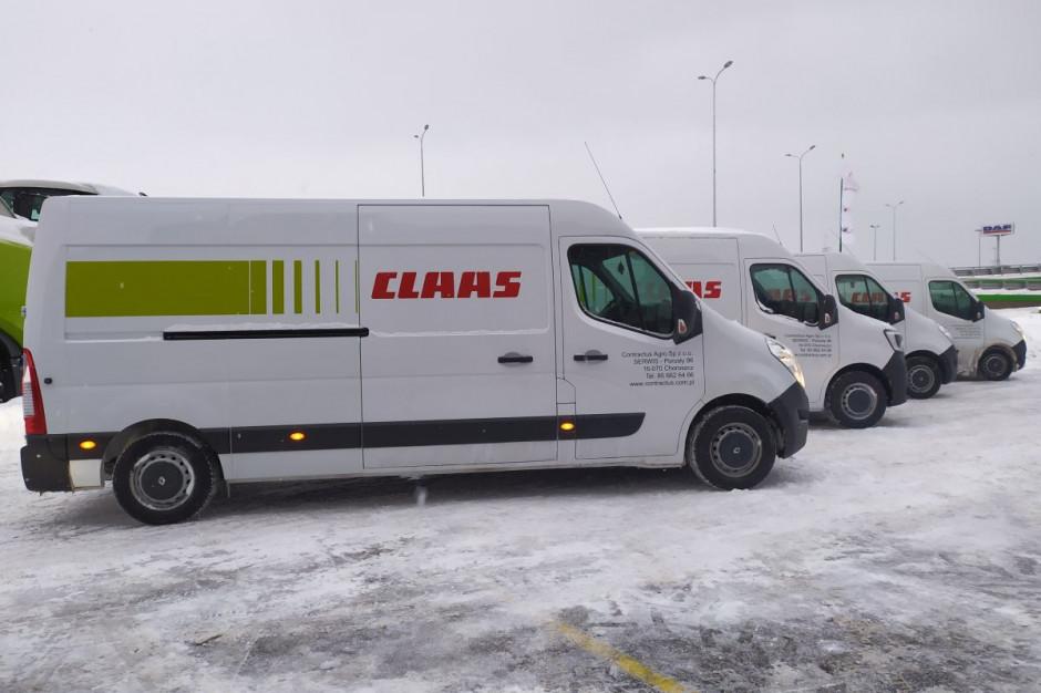 Auta serwisowe firmy Contractus Agro, fot. Claas Polska