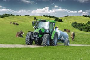 Deutz-Fahr 5110G to drugi najpopularniejszy model ciągnika w zestawieniu sprzedaży maszyn nowych w całym 2020 r. fot. mat. prasowe