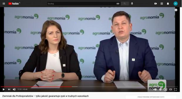 Patrycja Kapral i Michał Dąbrowski - prowadzący szkolenie z zakresu uprawy ziemniaka