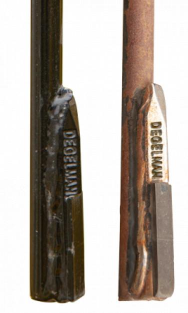Końcówki sprężyn roboczych standardowo pokryte są płytkami z węglika. Zdjęcie: Degelmann