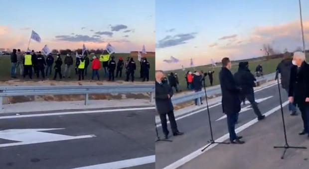 Rolnicy przyjechali do premiera z prostym pytaniem. Rozmowy nie było