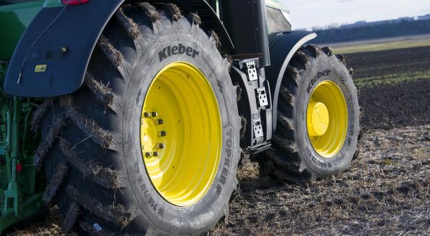 Nowa opona do dużych ciągników - Kleber Topker IF