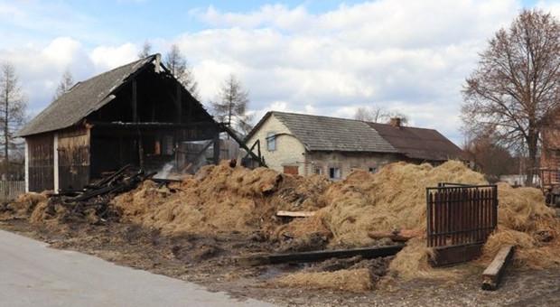 Zatrzymano podpalacza stodoły