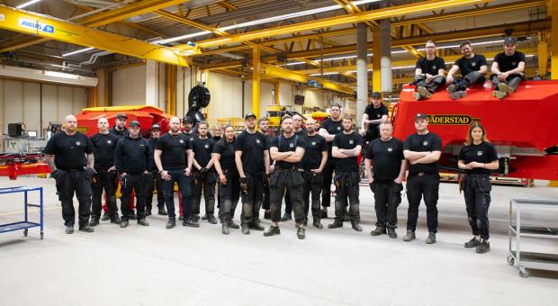 Väderstad wyprodukował 1000 siewników Tempo L