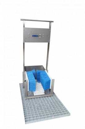 *UNIDOZ BOOT CLEANER Urządzenie do mycia obuwia.