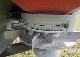 Każdy wirnik ma po 8 łopatek, ich długość iukład dopasowane są do wymaganej szerokości roboczej