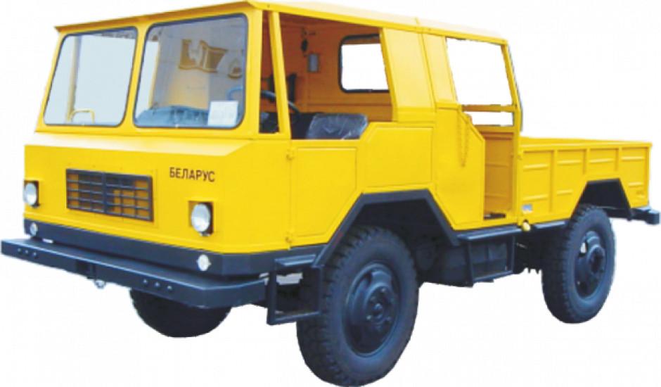 Belarus MGL-363M2 auto do zadań specjalnych napędzane silnikiem z ciągnika. fot. MTZ-Belarus