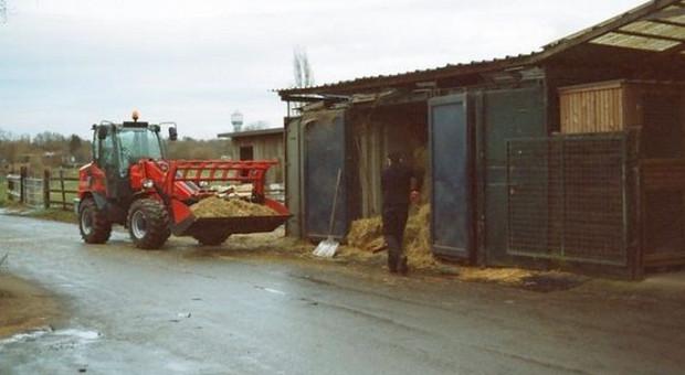 Pijany traktorzysta zdemolował posesję sąsiada