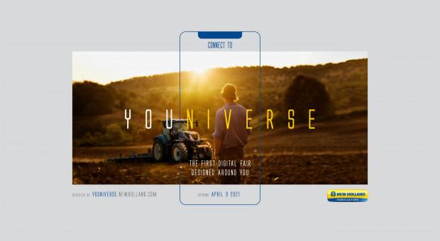 CNH zaprasza na pierwsze cyfrowe targi maszyn rolniczych Youniverse